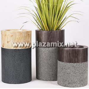 玻璃纖維鋼花盆 Glass Fibre Flowerpot
