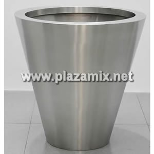 圓錐形不鏽鋼花盆 Stainless Steel Flowerpot - Conical