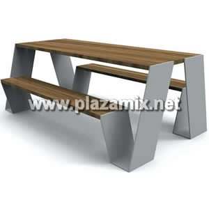 戶外餐桌椅 Outdoor Wood Bench