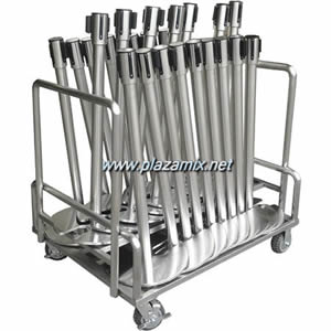 可疊式U型座柱運送車 Stanchion Trolley